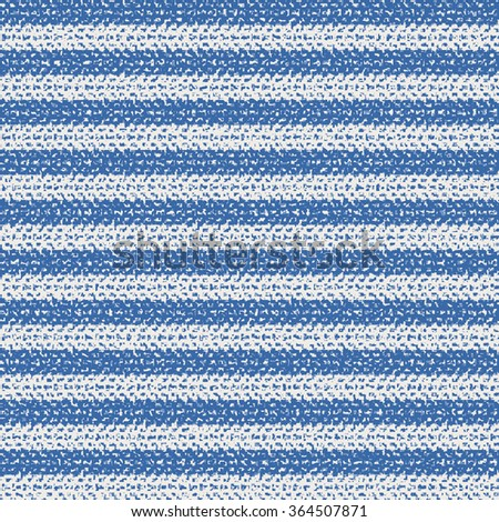 Abstract brushed breton stripes. Seamless pattern. - stock vector