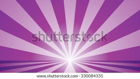 Abstract burst vector illustration. - stock vector
