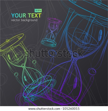 Abstract business background - stock vector