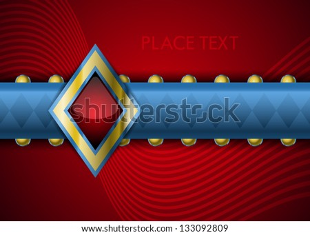 Abstract business background pattern for work with site or logo - stock vector