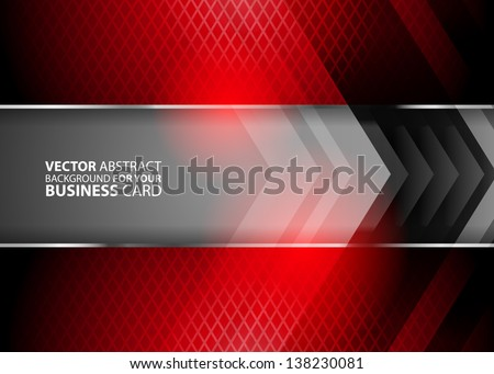 Abstract business background - vector - stock vector
