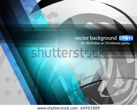 Abstract Business Corporate Background with Abstract Shapes motive - stock vector
