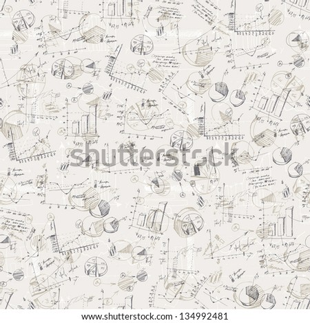 Abstract business graphs background. Vector, EPS10 - stock vector