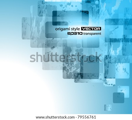 Abstract business or corporate card background for elegant flyers. - stock vector