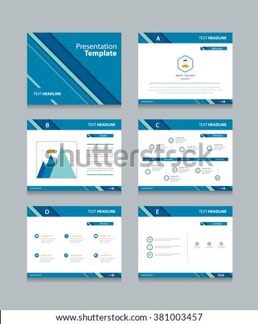 abstract business presentation template slides background stock, Presentation templates
