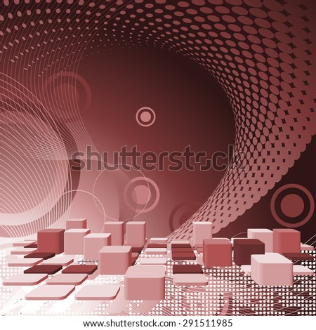 Abstract checkered pattern.  - stock vector