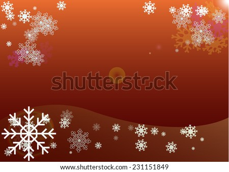 Abstract Christmas background and new year in vector EPS 10 format - stock vector