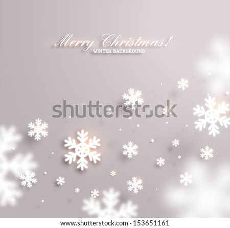 Abstract Christmas background for Xmas design - stock vector