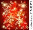 Abstract christmas background. Vector - stock photo