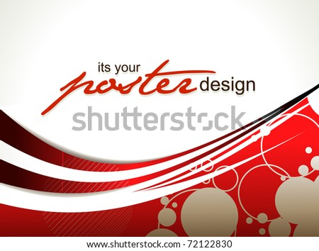 Abstract circle background, vector illustration. - stock vector