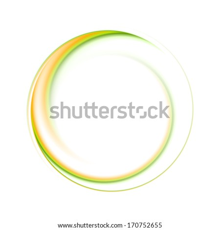 Abstract circle bright background. Vector logo eps 10 - stock vector