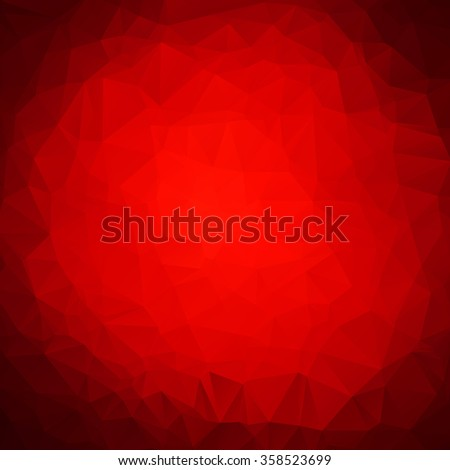 Abstract circle red texture background - stock vector