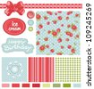 Abstract Classic design Elements for scrap-booking, greeting cards, wallpaper, textiles. Elegance vector illustration. - stock vector