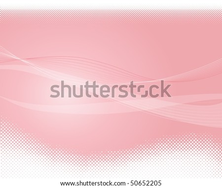 Abstract Clean Vector Wave Background. Halftone. - stock vector