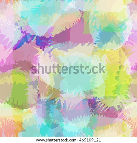 Abstract color background and seamless pattern.