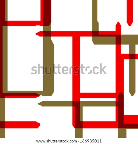 Abstract color background, geometric shapes.