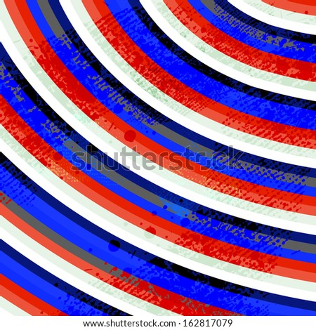 Abstract color grungy background  - stock vector