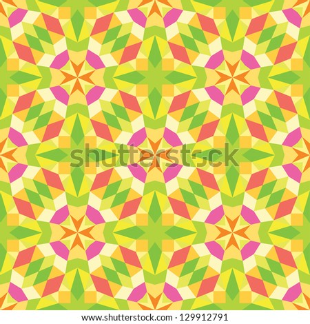 Abstract color pattern.Seamless background. - stock vector