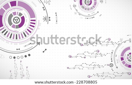 Abstract color technology background/computer technology business background