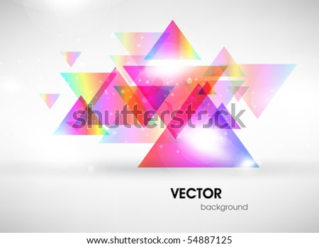 Abstract colored background. - stock vector