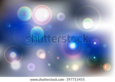 Abstract colored background. Vector. Blue color theme.  For web design, presentations, wallpapers. - stock vector