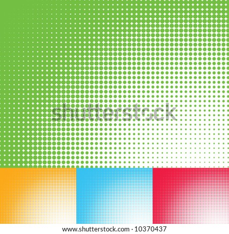 Abstract Colored Backgrounds - stock vector