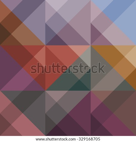Abstract colored geometric background for design. Vector EPS10 - stock vector