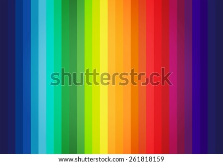 Abstract Colored Palette Guide - stock vector
