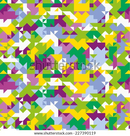 Abstract colored pattern. - stock vector