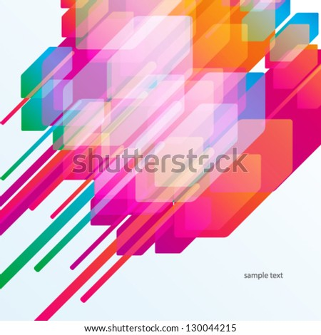 Abstract colorful background.