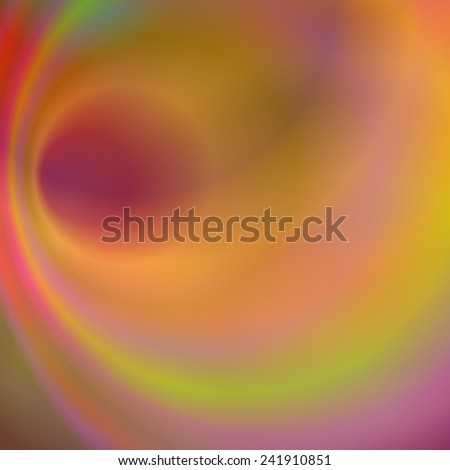 Abstract colorful background design with swirls - stock vector
