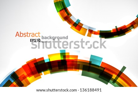 Abstract colorful background. EPS10 vector. - stock vector