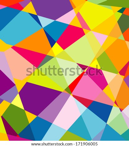 Abstract colorful background for design - stock vector