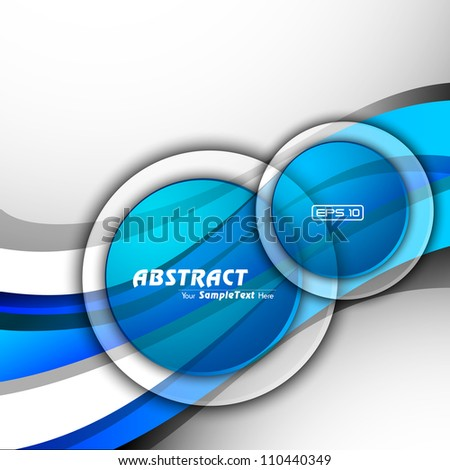 Abstract colorful background for design. EPS 10. - stock vector