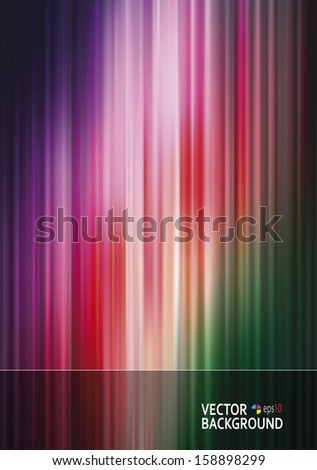Abstract colorful background template. Vector EPS-10