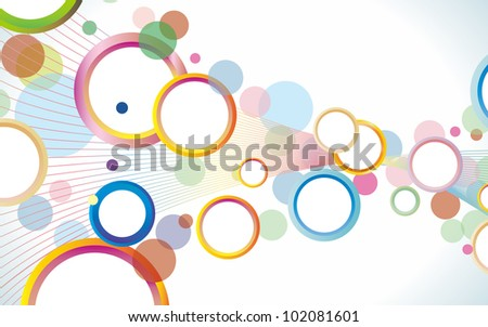 Abstract colorful background. Vector - stock vector