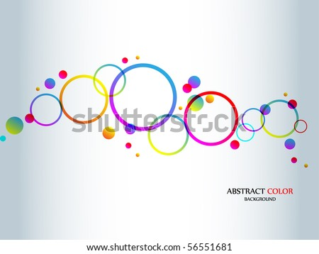Abstract colorful background-Vector. - stock vector