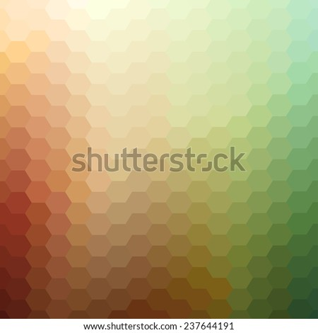 Abstract colorful background. Vector illustration does not contain gradients and transparency