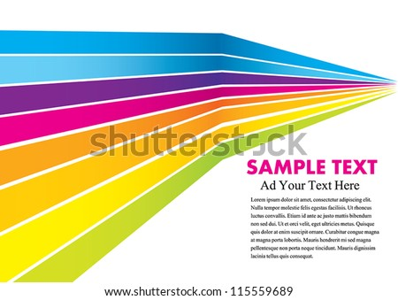 Abstract colorful background. Vector illustration Eps 10. - stock vector