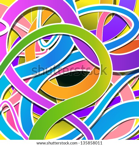 Abstract Colorful Background - Vector Illustration, Graphic Design Editable For Your Design - stock vector