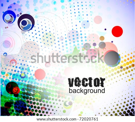 abstract colorful banner design. vector illustration. - stock vector