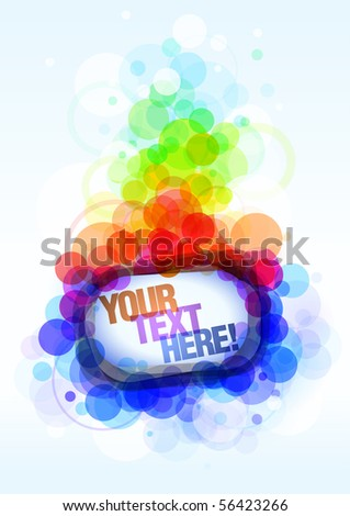 Abstract Colorful banner. eps10. - stock vector