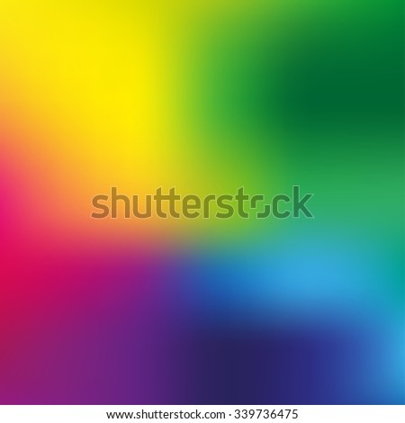 Abstract colorful blurred vector background