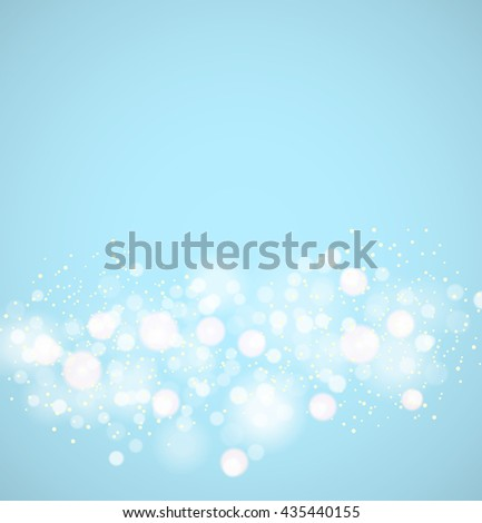 Abstract colorful bokeh background. Vector illustration - stock vector