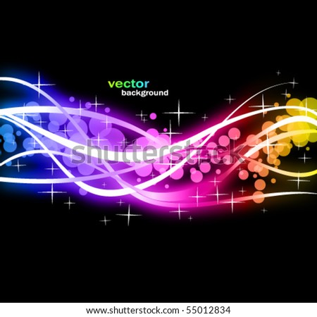 Abstract Colorful Business Background with Rainbow Spectrum colours