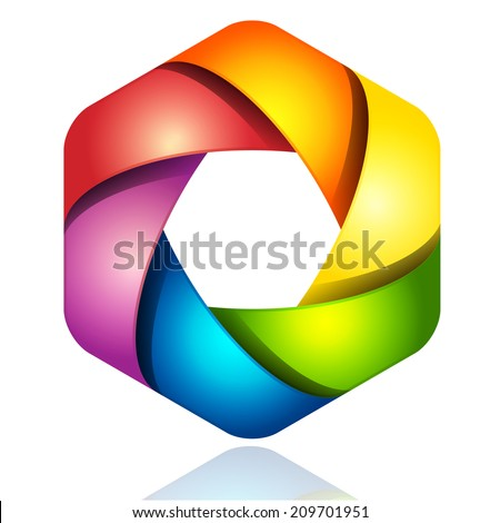 Abstract colorful design  - stock vector