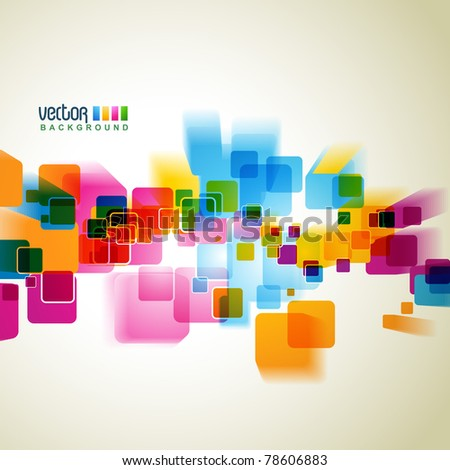 abstract colorful eps10 background - stock vector