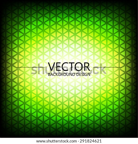 Abstract colorful explosion design, Green bright shade, Modern disco lights background. - stock vector