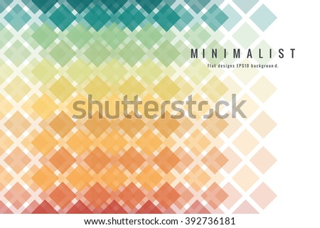 Abstract Colorful geometric illustration background.