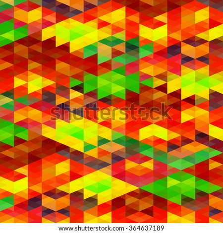 Abstract colorful geometric vector background - stock vector